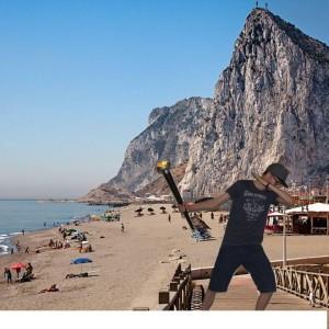Patrick in Gibraltar