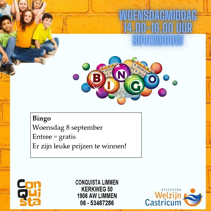 Flyer bingo 08-09