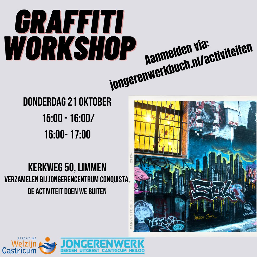 Graffiti workshop limmen